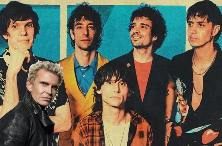 Twitter Thinks the New Strokes Song Sounds a Lot Like  Billy Idol's 'Dancing with Myself'