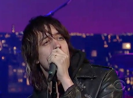 The Strokes 'Taken for a Fool' (live on <i>Letterman</i>)