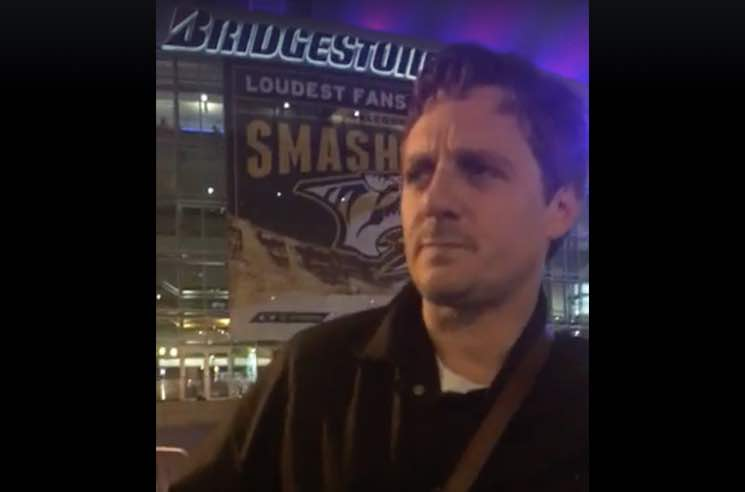 ​Sturgill Simpson Busked Outside the CMA Awards to Support the ACLU