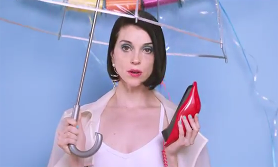 "St. Vincent ""New York"" (video)"