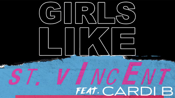 Hear St. Vincent Remix Maroon 5 and Cardi B's 'Girls Like You'