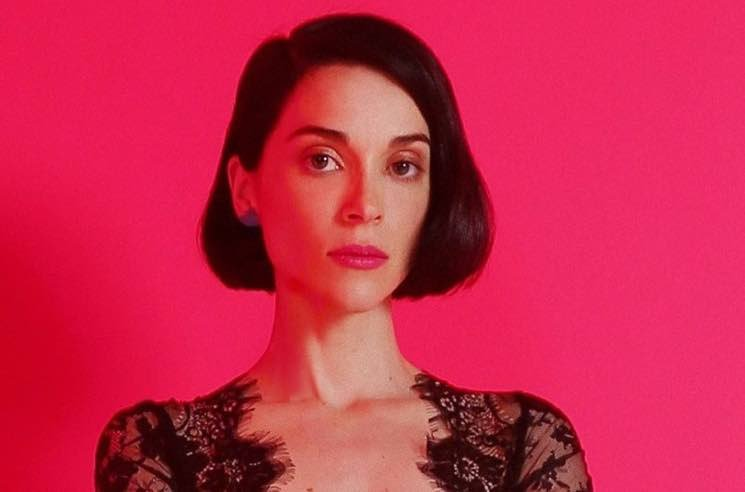 "Watch St. Vincent Cover Red Hot Chili Peppers' ""Breaking the Girl"""