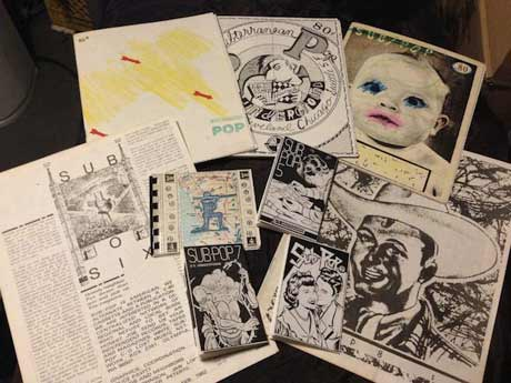 Sub Pop Co-Founder Bruce Pavitt Collects Early 'Subterranean Pop' Zines for Anthology Book