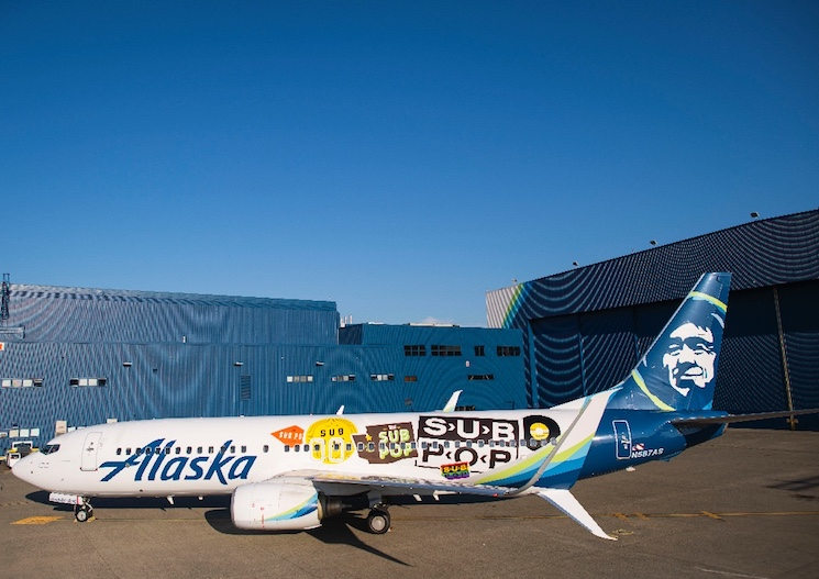Sub Pop Gets Its Very Own Plane