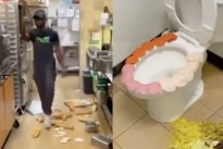 Subway Employee Asks Meek Mill to Sign Him While Trashing Restaurant
