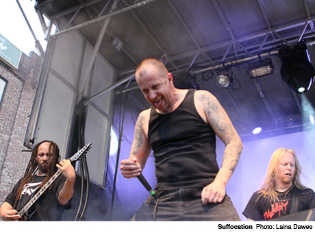 Suffocation Outdoor Stage 1, Baltimore MD May 27
