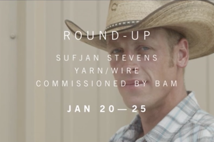 Sufjan Stevens 'Round-Up' (trailer)