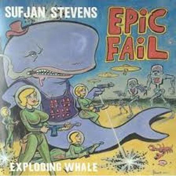 """Sufjan Stevens """"Exploding Whale"""""""