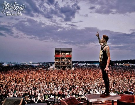 Suicide Silence's Mitch Lucker Killed in Motorcycle Crash