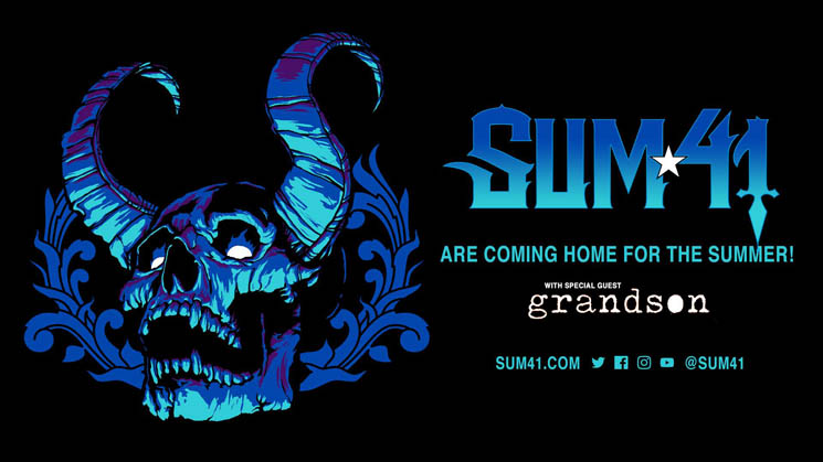 ​Sum 41 Announce Toronto Show at RBC Echo Beach