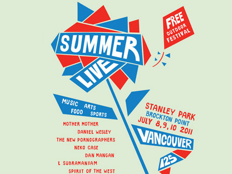 Vancouver Celebrates 125th Birthday with Free Festival Featuring New Pornographers, Neko Case, Dan Mangan