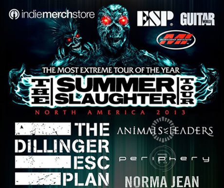Summer Slaughter 2013 Unveils Dates, Hits Up Toronto and Montreal