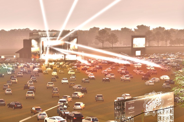 Toronto's Lakeshore Is Getting Another Drive-In Venue