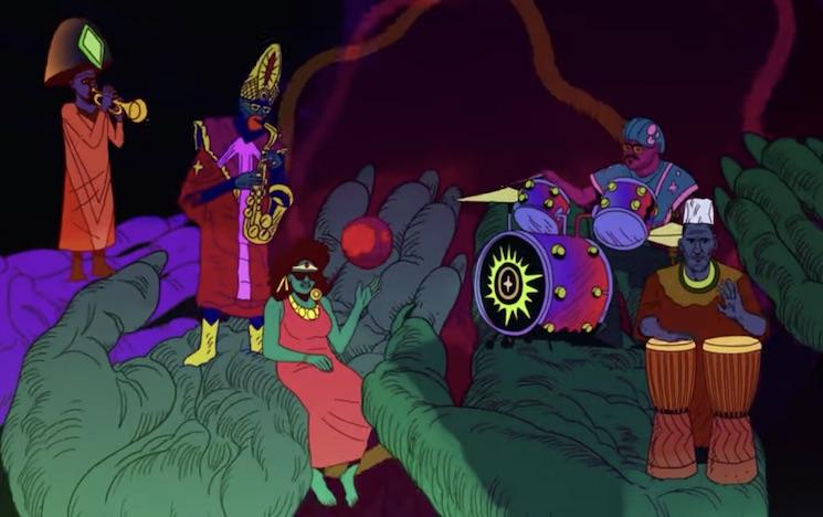 Watch a Brand New Sun Ra Arkestra Video Animated by Chad VanGaalen