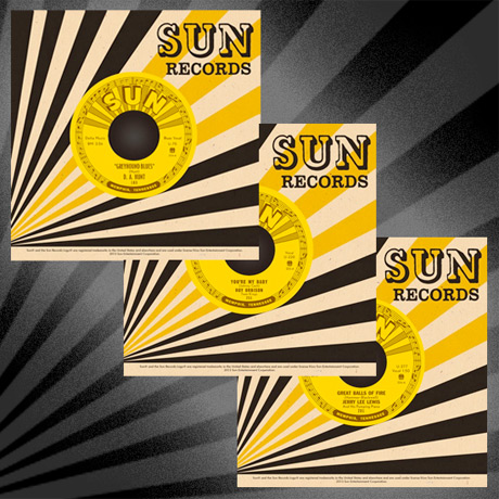 Third Man Records Continues Sun Records Reissues Series with 7-Inches by Roy Orbison, Jerry Lee Lewis, D.A. Hunt