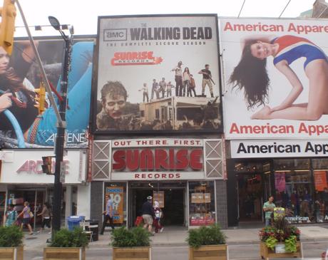 Toronto's Sunrise Records Shutting Down Yonge Street Stores