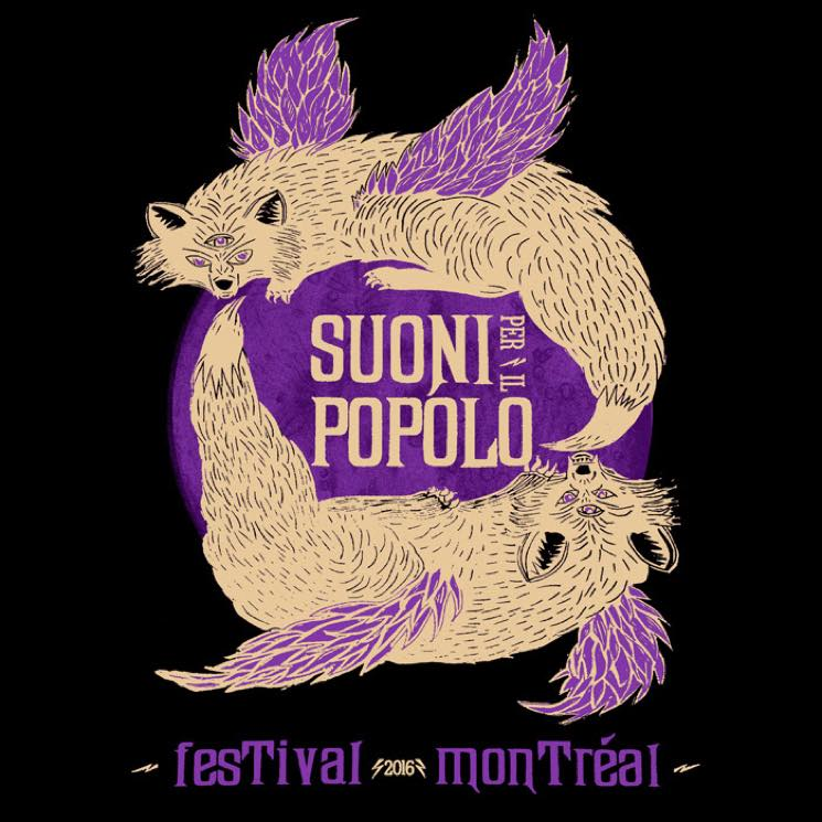 Montreal's Suoni Per Il Popolo Festival Unveils 2016 Lineup with Sunn O))), Wolf Eyes, Liz Harris
