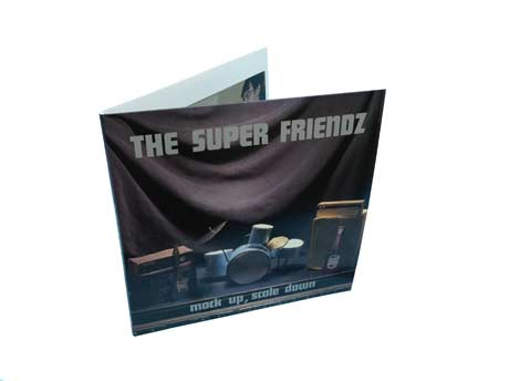 The Super Friendz Detail 'Mock Up, Scale Down' Vinyl Reissue