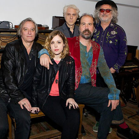 Krist Novoselic Recording with Peter Buck and Corin Tucker's super-Earth