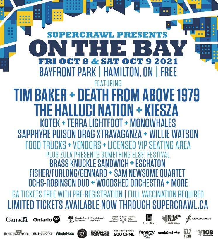 Hamilton, ON's Supercrawl Announces Free 2021 Festival