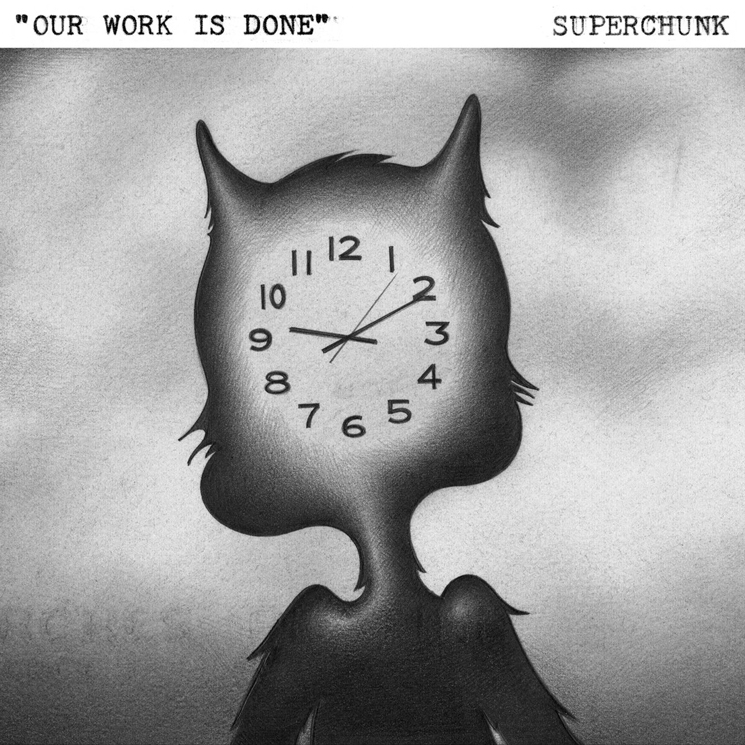 "Superchunk Get Fucked Up's Damian Abraham for ""Our Work Is Done"""
