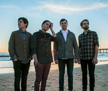 Surfer Blood Unveil North American Fall Tour with Gauntlet Hair