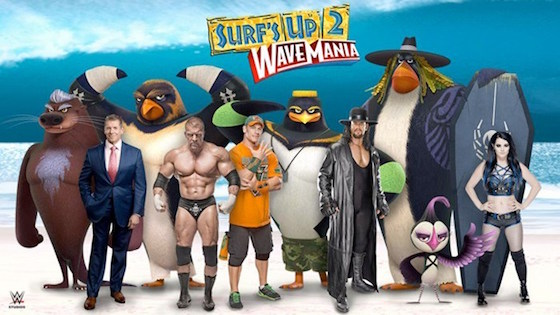 WTF: They're Making a 'Surf's Up' Sequel with WWE Wrestlers