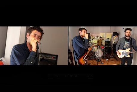 "Suuns ""Edie's Dream"" / ""Fearless"" (Pink Floyd Cover) on Exclaim! TV"