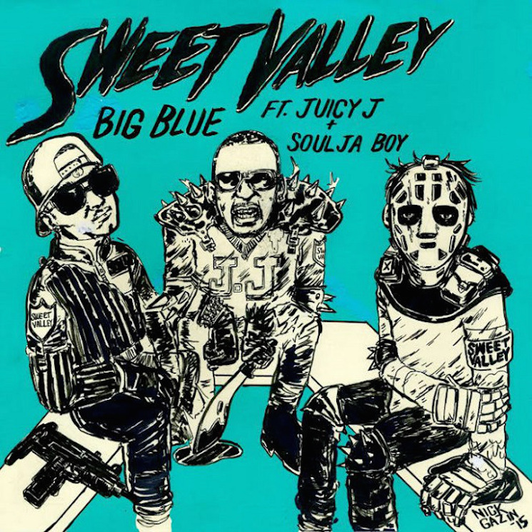 "Sweet Valley ""Big Blue"" (ft. Juicy J and Soulja Boy)"