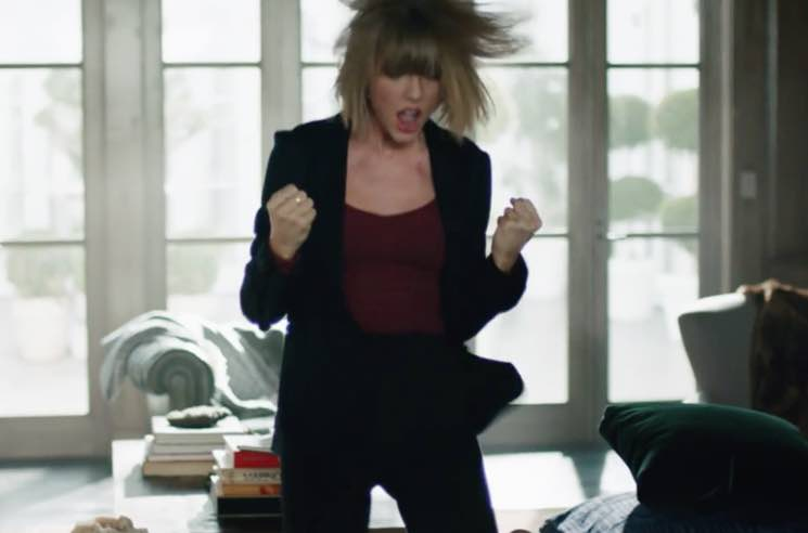 ​Watch Taylor Swift Channel the Darkness for Latest Apple Music Ad