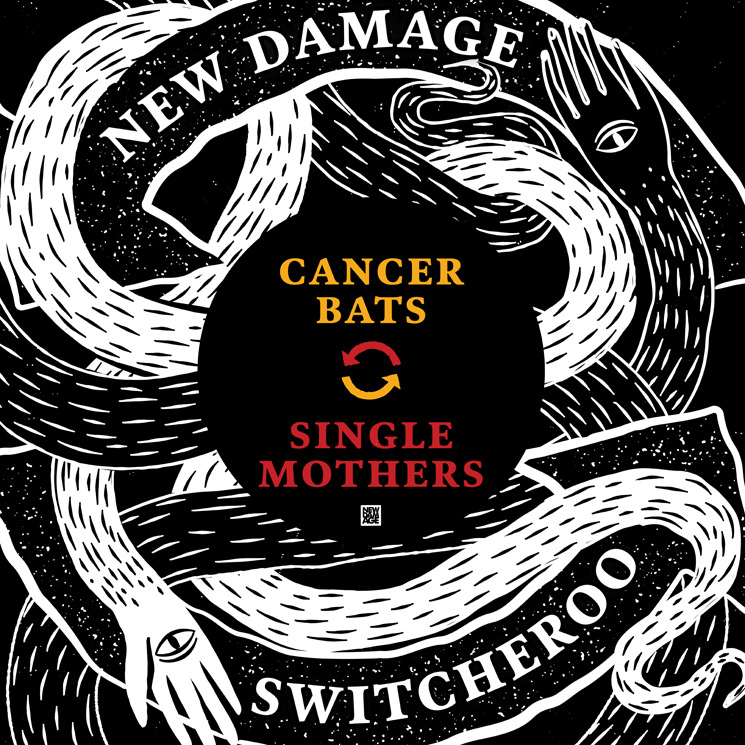 Hear Cancer Bats and Single Mothers Cover Each Other on Their New Split EP