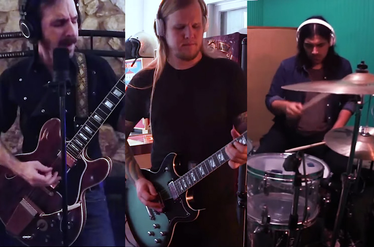 Watch the Sword Cover Rush's 'Working Man'