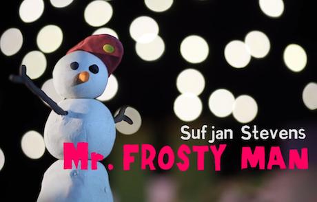 """Sufjan Stevens """"Mr. Frosty Man"""" (video)"""