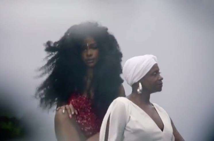 ​SZA Teases 'Garden' Video Featuring Donald Glover and Her Mom