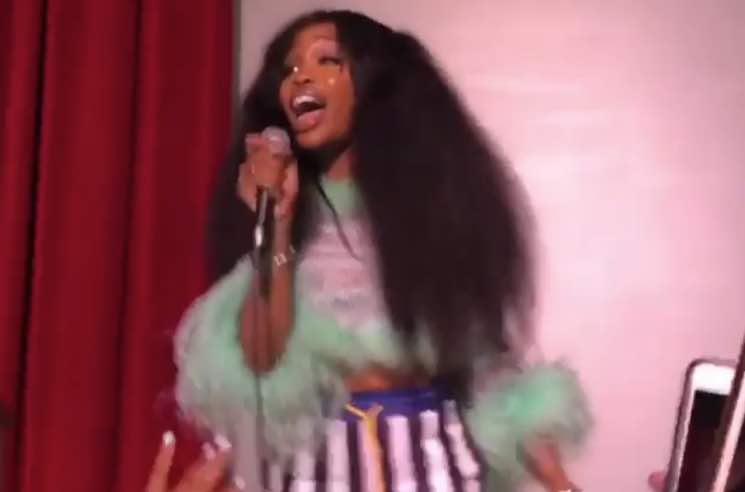 Watch SZA Deliver a Speech to Her High School in New Jersey