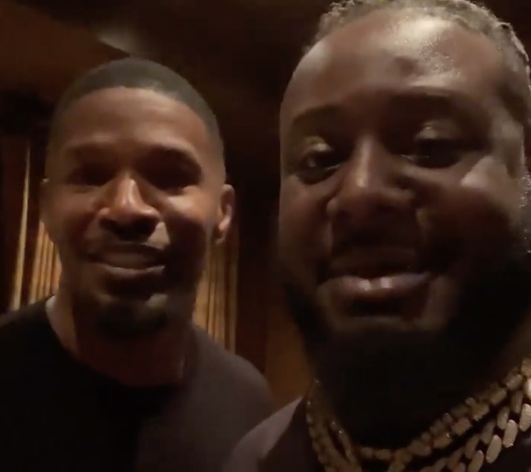 T-Pain and Jamie Foxx Linked Up After That Instagram Message Foible