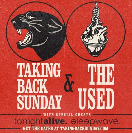 Taking Back Sunday and the Used Join Forces for North American Tour