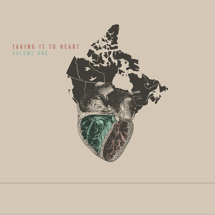 Stream the New 'Taking It to Heart' Charity Comp with Kevin Drew, Operators, Chad VanGaalen, the Besnard Lakes