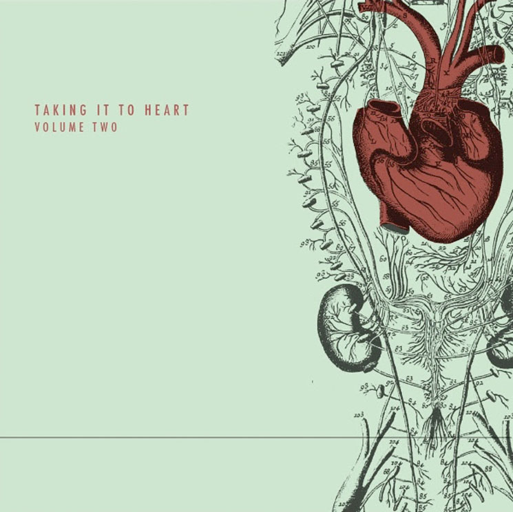 Stream the New 'Taking It to Heart' Charity Comp with Dan Mangan, Cloud Nothings, Spiral Stairs