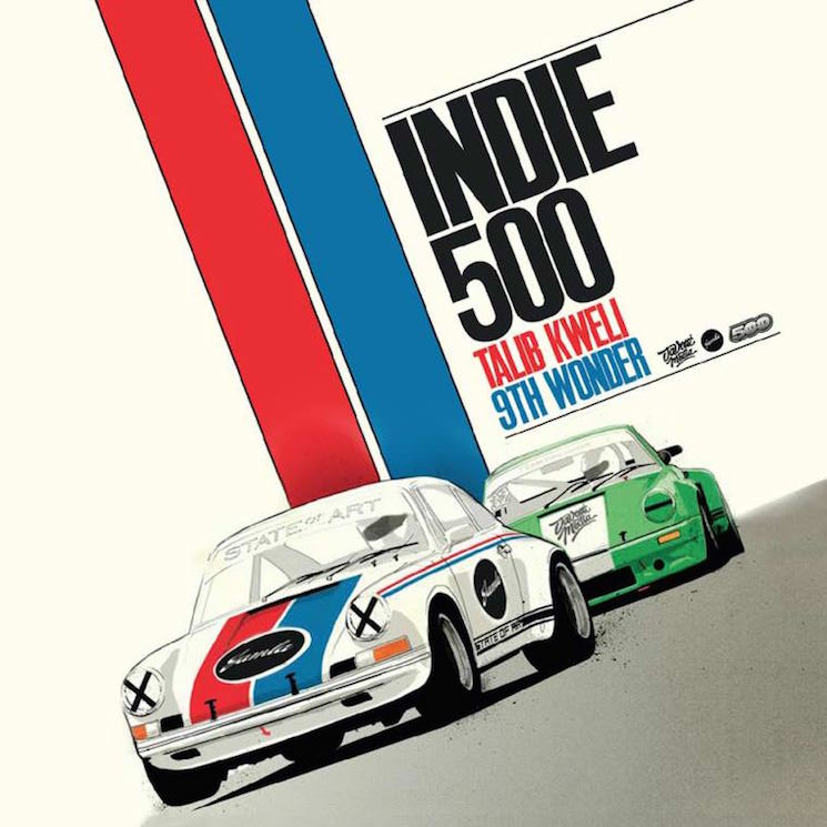 Talib Kweli & 9th Wonder 'Indie 500' (album stream)