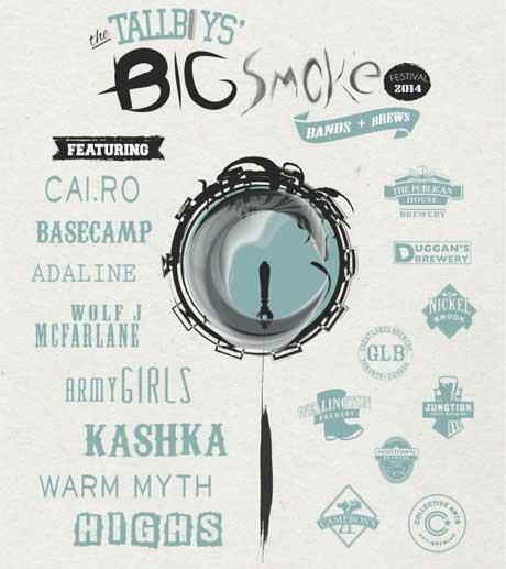 Cai.ro, Basecamp, Army Girls, Adaline to Play Toronto's Third Annual Big Smoke Festival
