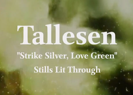 "Tallesen ""Strike Silver, Love Green"""