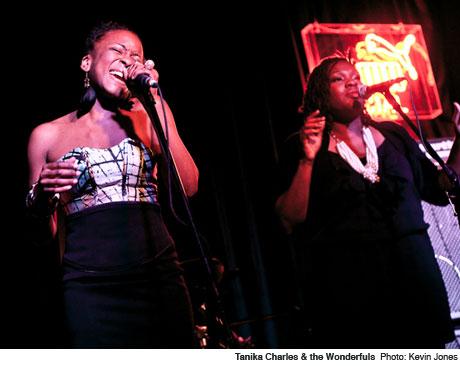 Tanika Charles & the Wonderfuls Wrongbar, Toronto ON June 16