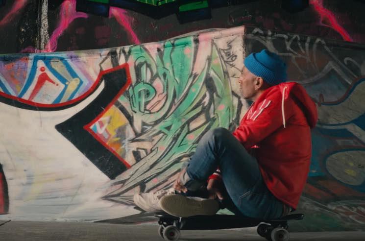 Tariq Skateboards Through Vancouver in 'Walking Dead' Video