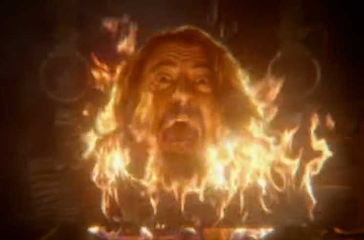 Watch Dave Grohl's Head Go Up in Flames with Taylor Hawkins's 'I Really Blew It' Video