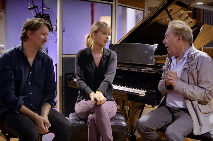 ​Taylor Swift and Andrew Lloyd Webber Wrote a New Original Song for 'Cats