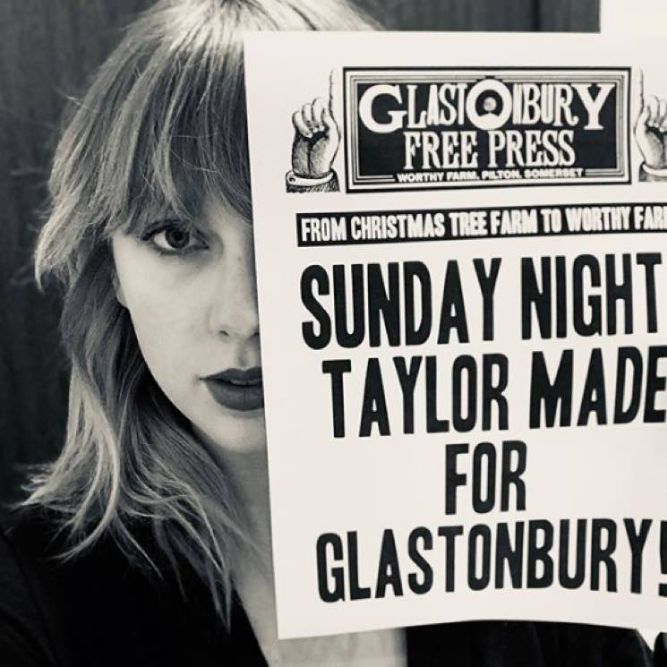 Taylor Swift to Headline Glastonbury 2020