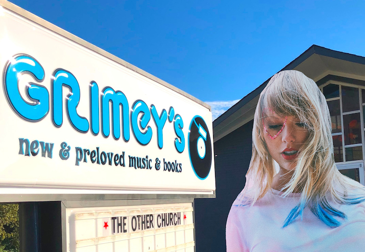 Taylor Swift Donated Money to Keep a Nashville Indie Record Store Afloat