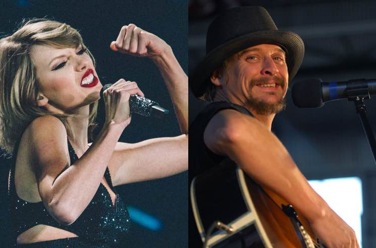 "​Kid Rock Says Taylor Swift ""Will Suck the Door Knob Off Hollyweird"" to Have a Film Career"