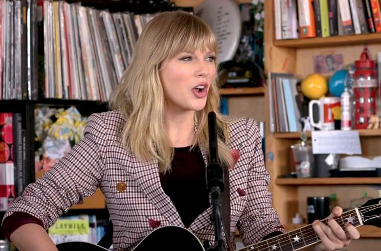 "​Watch Taylor Swift Perform a ""Tiny Desk Concert"" for NPR"